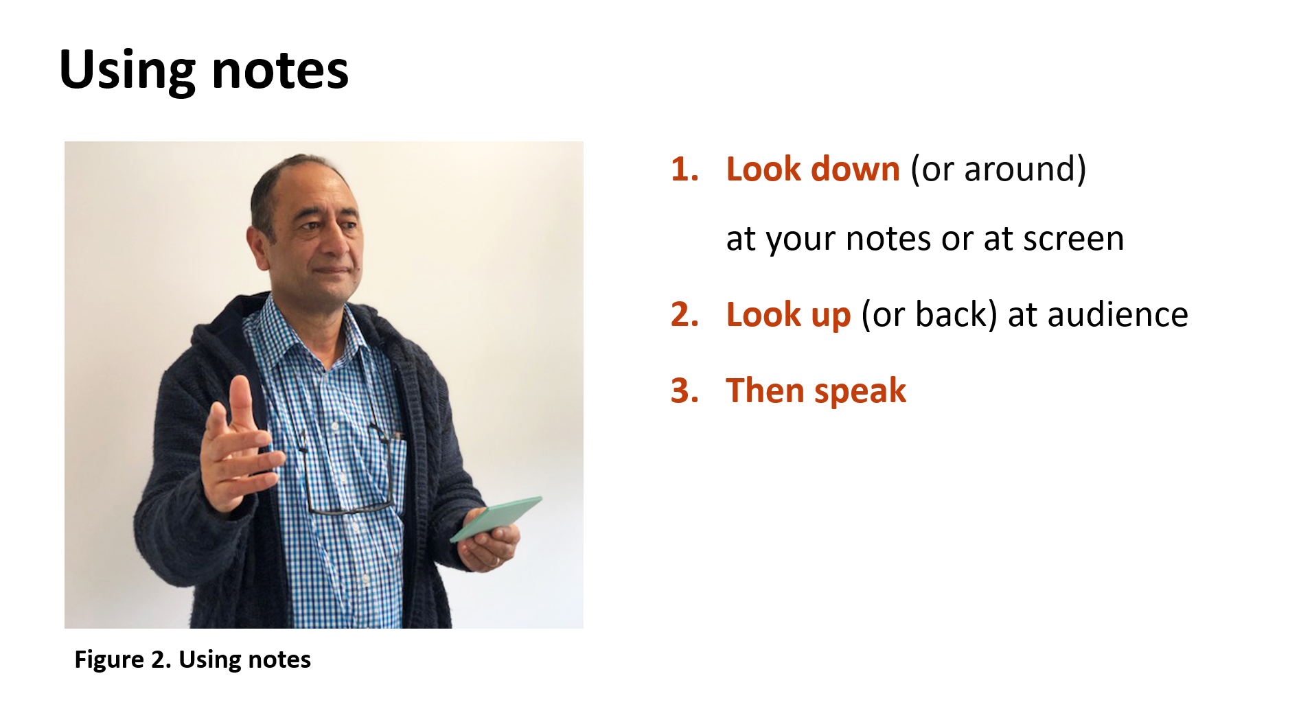 Using your own image in a slide