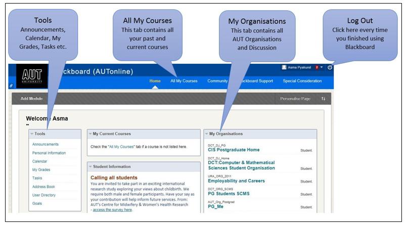 Learning technologies - Blackboard